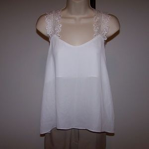Alythea High Low Top Shirt Blouse Size Small NWT